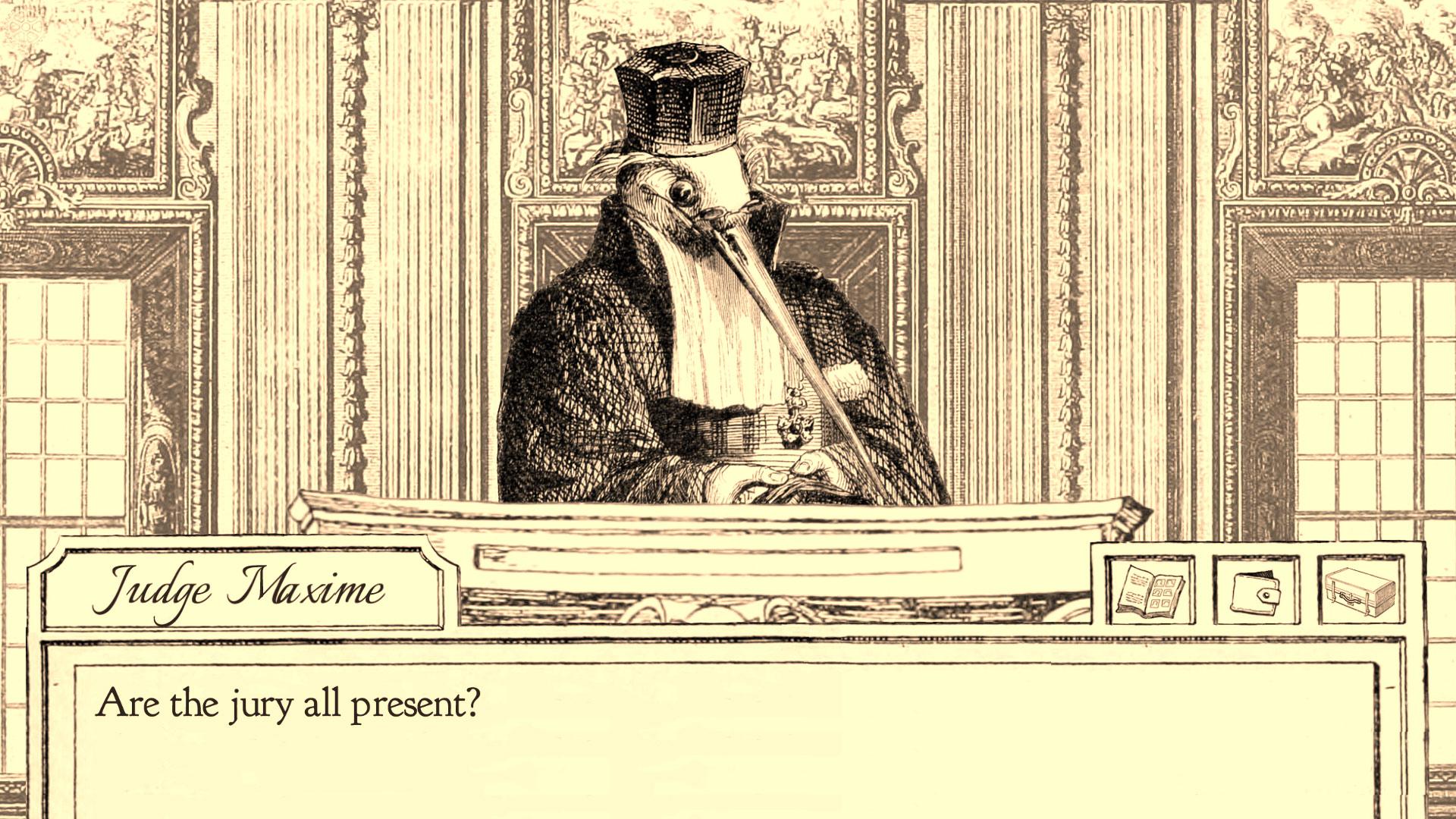 长嘴的法官
