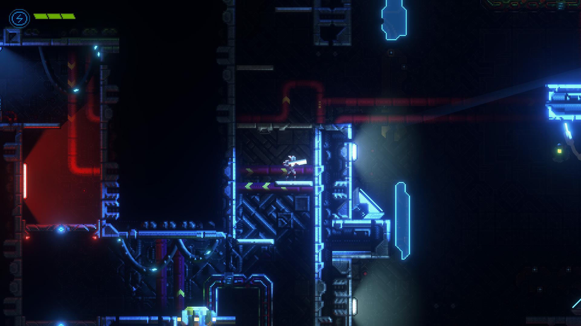 8-Bit的皮,外加接近真实的光影表现,伴随着细节丰富的场景设计,就问你想不想截图?