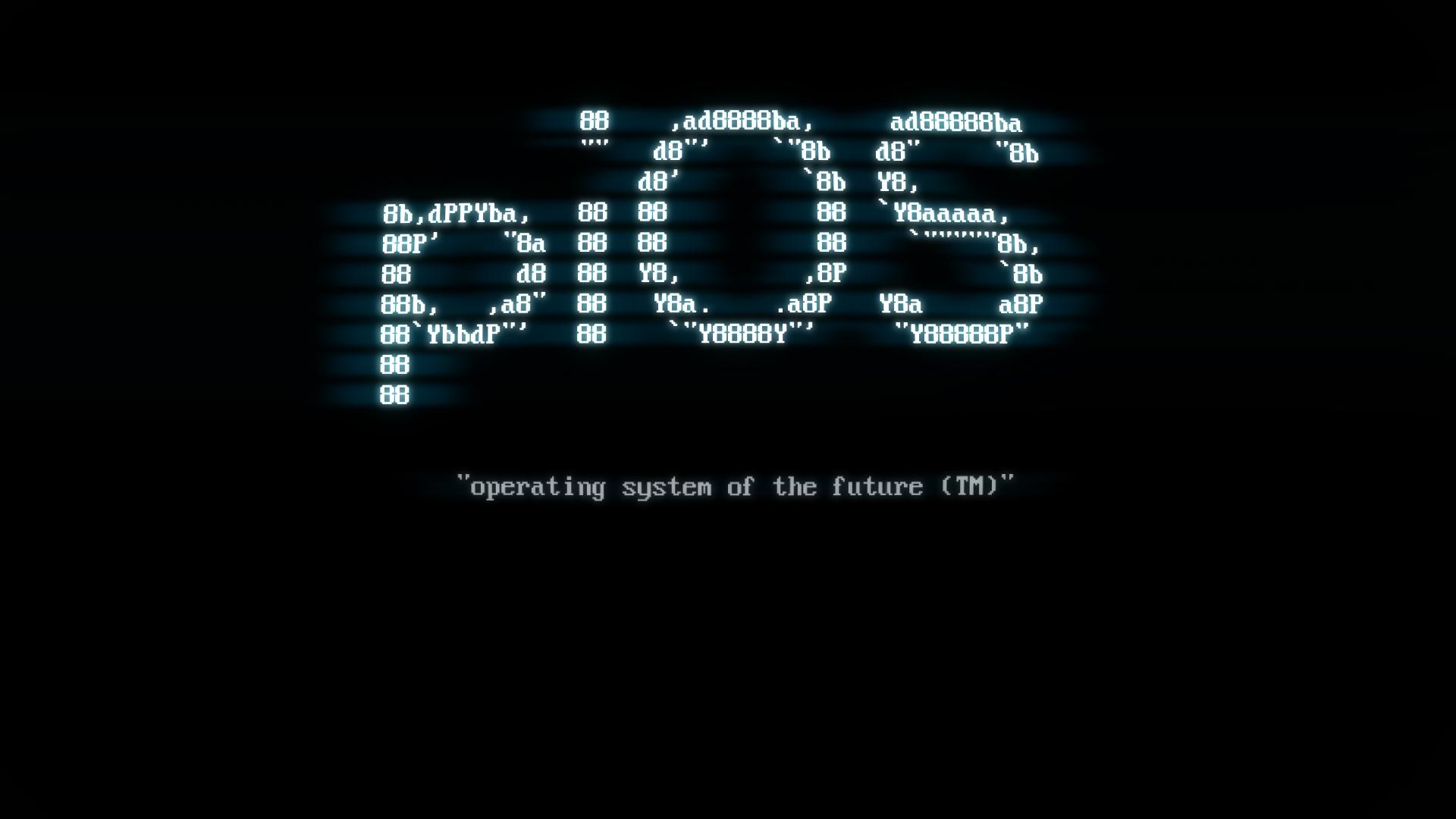 模拟计算机启动时的 BIOS