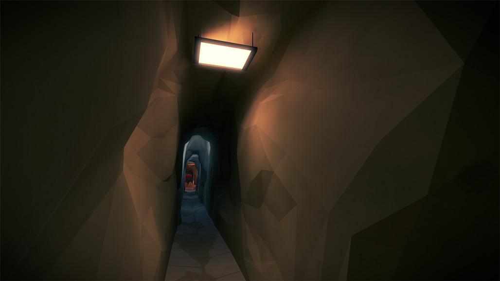狭窄的地下通道
