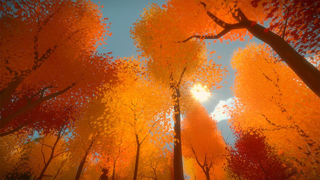 秋意满满的场景