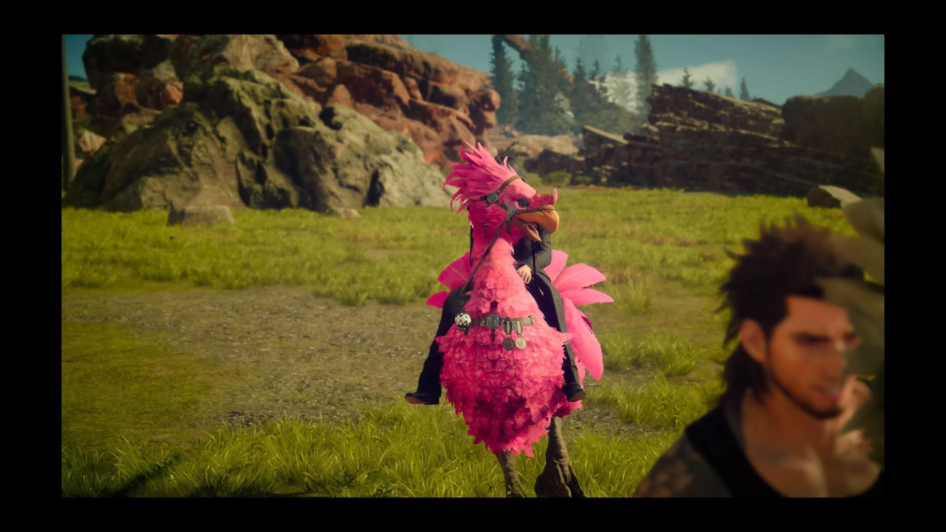 为开发团队、玩家群体津津乐道的陆行鸟